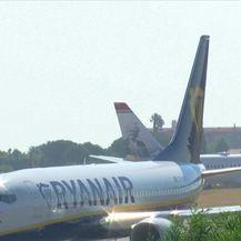 Štrajk pilota Ryanaira (Video: Dnevnik Nove TV)