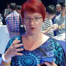 Martina Čizmić, urednica portala Zimo, među prvima je testirala novi Samsungov televon (Video: Martina Čizmić)
