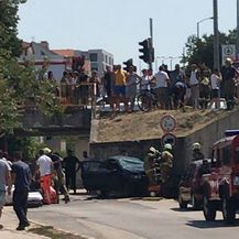 Prometna nesreća u Splitu (Foto: čitatelj)