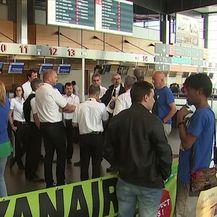 Najveći štrajk u povijesti Ryanaira (Video: Dnevnik Nove TV)
