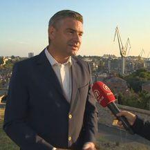 Boris Miletić, gradonačelnik Pule, i Petra Fabian Kapov (Foto: Dnevnik.hr)