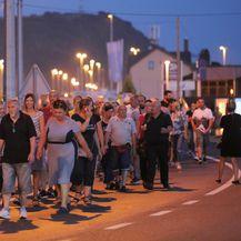 Prosvjed u Zaprešiću (Foto: Tomislav Miletic/PIXSELL)