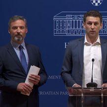 Konferencija za medije - Most (Screenshot: Nova TV)