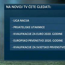 Utakmice hrvatske reprezentacije na Novoj TV