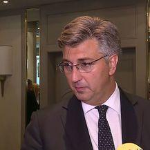 Premijer Andrej Plenković o iskazima Martine Dalić (Foto: Dnevnik.hr) - 1