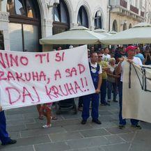 Štrajk radnika Uljanika - 2 (Foto: Dnevnik.hr)