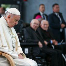 Papa Franjo u Irskoj (Foto: AFP)