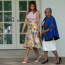 Melania i supruga kenijskog predsjednika, Margaret Keynatta