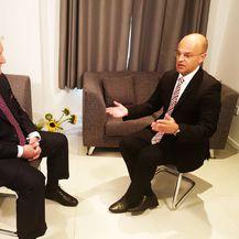 Mislav Bago ekskluzivno razgovara s Ivicom Todorićem (Foto: Dnevnik.hr)