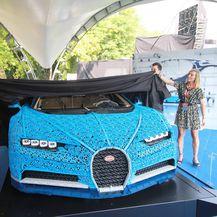 Predstavljen Bugatti Chiron izrađen od Lego kockica (Foto: Alberto Cattaneo/IPA/PIXSELL) - 2