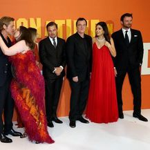 Lena Dunham i Brad Pitt (Foto: Profimedia)