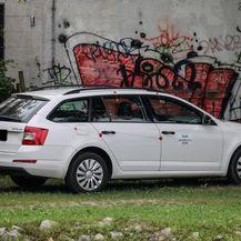 Automobil kojim je ubojica bježao od policije (Foto: Jurica Galoic/PIXSELL) - 4