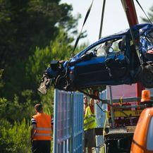 Teška prometna nesreća kod Zadra (Foto: Marko Dimic/PIXSELL)