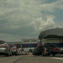 Gužve na cestama (Video: Dnevnik Nove TV)