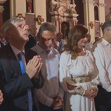 Premijer Plenković moli u sinjskoj crkvi (Foto: Dnevnik.hr) - 2
