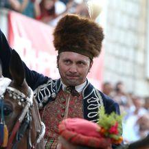 Frano Ivković, slavodnobitnik 304. Sinjske alke (Foto: Ivo Cagalj/PIXSELL)