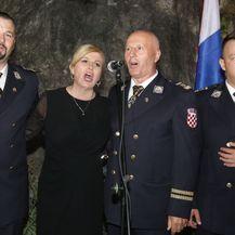 Svečani prijem u Kninu, Kolinda Grabar Kitarović (Foto: Dusko Jaramaz/PIXSELL) - 14