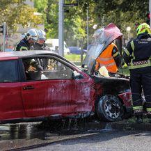 U Dugavama se sudarila dva auta (Foto: Jurica Galoic/PIXSELL) - 2