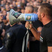 Navijači Ferencvaroša (Foto: Borna Filic/PIXSELL)