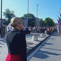 Kolinda Grabar-Kitarović u Kninu (Foto: Dnevnik.hr)