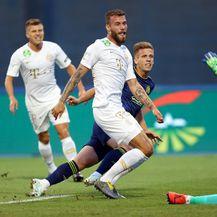 Olmo postiže pogodak Ferencvarošu (Foto: Slavko Midžor/PIXSELL)