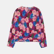 Zara, cvjetna bluza i hlače - 2