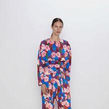 Zara, cvjetna bluza i hlače - 3