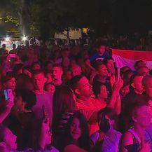 Posjetitelji Škorinoga koncerta (Foto: Dnevnik.hr)