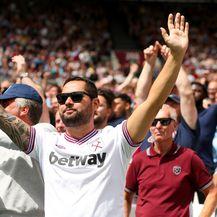 Navijači West Hama (Foto: Steven Paston/Press Association/PIXSELL)
