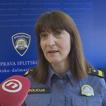 Željka Radošević iz PU Splitsko-dalmatinske (Foto: Dnevnik.hr)