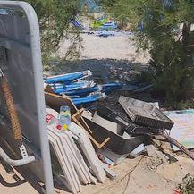Smeće na plaži (Foto: Dnevnik.hr)