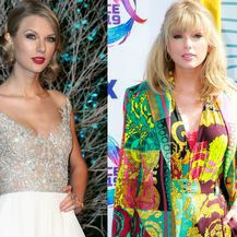 Taylor Swift 2012. i 2019. godine