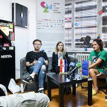 Predstavljanje javnog poziva za dodjelu priznanja Mladi Gradonačelnik Grada Zagreba 2019. (Foto: Sandra Simunovic/PIXSELL)