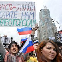 Prosvjed u Rusiji (Foto: AFP) - 1