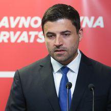 Konferencija za medije predsjednika SDP-a Davora Bernardića (Foto: Marko Prpic/PIXSELL)