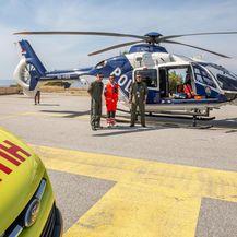 Medicinski helikopter, ilustracija (Foto: Grgo Jelavic/PIXSELL)