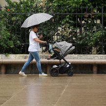 Kiša u Zagrebu, ilustracija (Foto: Marko Lukunic/PIXSELL)