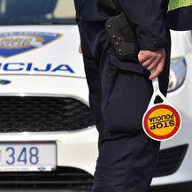 Prometna policija mjeri brzinu (Foto: Hrvoje Jelavic/PIXSELL) - 7