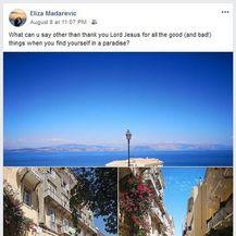 Objava Elizabete Mađarević na Facebooku (Foto: screenshot Facebook)