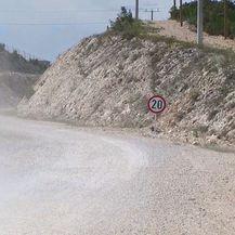 Pristupne ceste Pelješac (Foto: Dnevnik.hr)