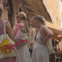 Turisti u Zadru (Foto: Dnevnik.hr)