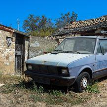 Odlaganje starih automobila u prirodi (Foto: Filip Kos/PIXSELL)