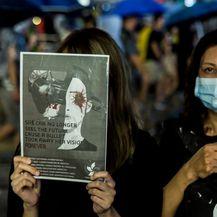 Prosvjed u Hong Kongu (Foto: AFP)