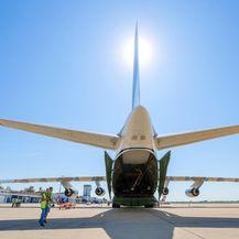 U Zagreb sletio jedan od najvećih aviona na svijetu Antonov (Foto: Borna Filic/PIXSELL) - 1