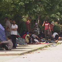 Migranti na cesti (Foto: Dnevnik.hr)