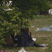 Migranti u šatorima (Foto: Dnevnik.hr)