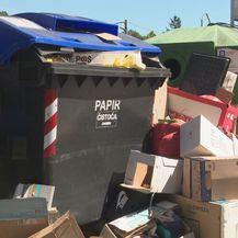 Pretrpani kontejneri (Foto: Dnevnik.hr)