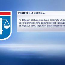 Priopćenje iz USKOK-a (Foto: Dnevnik.hr)