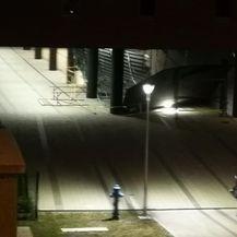 Urušio se strop zgrade u izgradnji u Zagrebu (Foto: Snimio čitatelj)