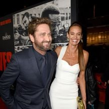 Gerard Butler i Morgan Brown (Foto: AFP)